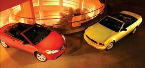 2006 Ford Mustang Convertible Vs. 2006 Pontiac G6 Convertible- Head To Head - Motor Trend