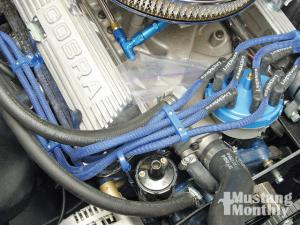 ford mustang msd ignition system install muscle mustangs and how to install spark plug wire loom holders mustang monthly magazine