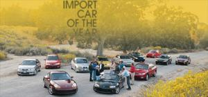Import Car Of The Year - Motor Trend Magazine
