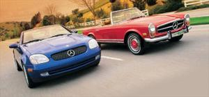 Mercedes-Benz SLK230 Vs. 1971 280SL - Comparison - Motor Trend