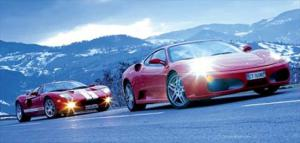 2005 Ford GT vs. 2005 Ferrari F430 - Engine & Transmission - Exotic Coupes Comparison - Motor Trend