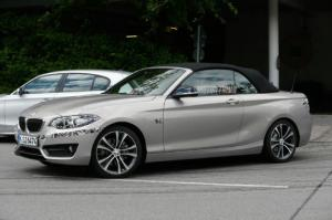 2015 BMW 2 Series Convertible Steps Out Without Camouflage