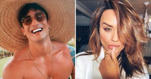 Ex-BBB e músico capixaba assumiram relacionamento sem rótulos e foram flagrados em shopping de São Paulo em tarde de compras neste sábado (29)