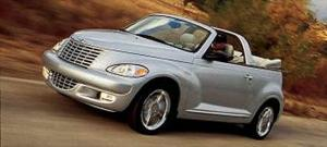 Chrysler Starts Production of 2005 PT Cruiser Convertible