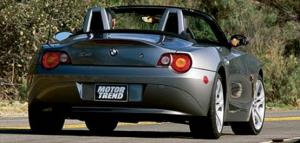 Luxury Sport Convertibles Comparison - 2003 BMW Z4 3.0i - Motor Trend
