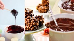 Quem nunca sentiu uma vontade absurda de comer um chocolatinho no meio dia, não é mesmo? Aí vão dicas para você reproduzir algumas tentações sua casa nesta data tão gostosa e todas as vezes que a vontade bater