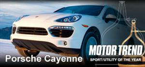 2011 Motor Trend Sport/Utility of the Year - 2011 Porsche Cayenne - Motor Trend