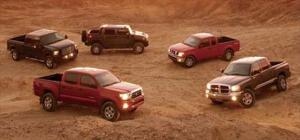 2005 Truck of the Year Testing - Motor Trend
