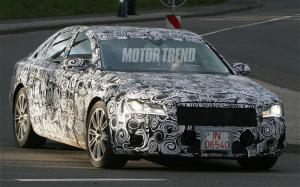 Audi A8 - Next generation A8 spied at the Nurburgring - Motor Trend