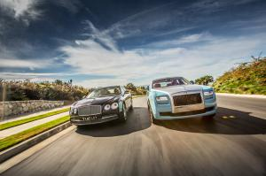 2014 Rolls-Royce Ghost vs. 2014 Bentley Flying Spur Comparison - Motor Trend