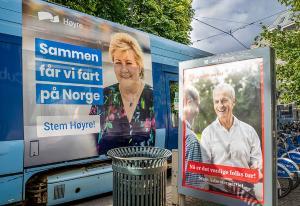 Reklamemarkedet øker med nesten én milliard - valgkampen drar opp omsetningen