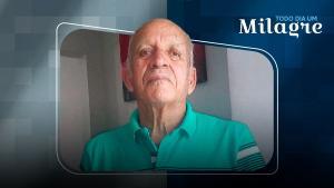 Alfredo Carlos Baiense, 75 anos, ficou internado 11 dias e se recuperou. Ele teve uma experiência em que acredita ter visto anjos