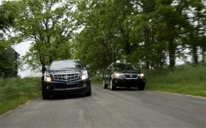 2010 Cadillac SRX and 2010 Lexus RX 350 Specs and Performance Test Data - Motor Trend
