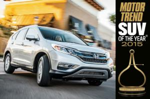 2015 Motor Trend SUV of the Year Winner: Honda CR-V Specs