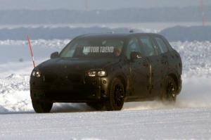 Spied: Volvo XC90 Prototype Winter Weather Testing - Motor Trend WOT