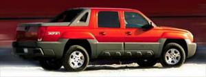 2002 Chevrolet Avalanche Options & Features - Motor Trend