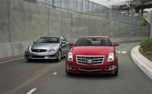 2011 Cadillac CTS Coupe vs 2010 Infiniti G37 Coupe Comparison - Motor Trend
