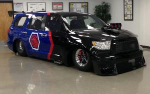 Racer-Built Toyota Sequoia, Camry, Tundra, and Prius to Take SEMA Stand for Charity