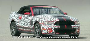 2010 Ford Mustang/Shelby GT500 Convertible - Spied Vehicles - Motor Trend