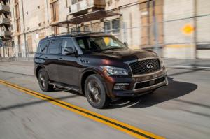 2015 Infiniti QX80 Limited First Test - Motor Trend