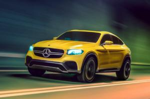 Mercedes-Benz Concept GLC Coupe First Look