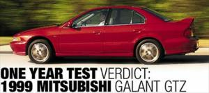 1999 Mitsubishi Galant GTZ One-Year Test Review Update - Motor Trend