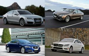 You're Buying WOT? BMW 640i Gran Coupe, Mercedes-Benz CLS550, Audi A7, or Jaguar XF