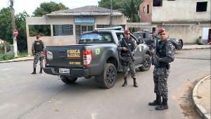 Para a polícia, o grupo pretendia revidar o ataque a tiros que terminou na morte de quatro pessoas em uma ilha na Baía de Vitória, no início da noite desta segunda-feira (28); a prisão foi feita pela Força Nacional, em Cariacica