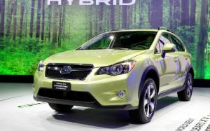 2014 Subaru XV Crosstrek Hybrid Gets 31 MPG Combined - 2013 New York