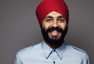 Sumeet Singh Patpatia er Schibsteds nye mangfoldssjef: - Alt handler om å speile samfunnet