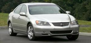 2005 Acura RL - Summit Point Raceway Road Course - First Drive & Road Test Review - Motor Trend
