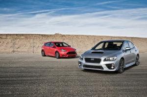 2014 Ford Focus ST vs. 2015 Subaru WRX Comparison - Motor Trend