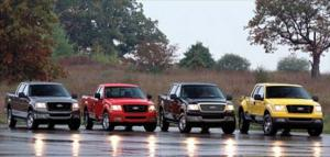 2004 Ford F-150 XLT, FX4, & Lariat Trims - Motor Trend 2004 Truck Of the Year Winner