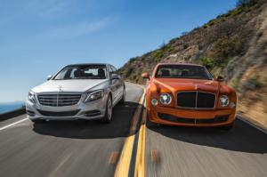 2016 Bentley Mulsanne Speed vs. 2016 Mercedes-Maybach S600 - Motor Trend