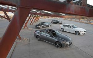 2013 Lexus GS 350 F Sport and 2012 BMW 535i Specs - Six Cylinder Midsize Luxury Sedans - Motor Trend