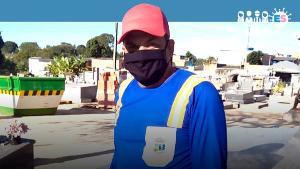 Morador de Linhares, Rodrigo Bravim conta como está o dia a dia com a pandemia. E ele tem uma relação especial com o cemitério: faz parte de uma família de coveiros. Os avós e os sete filhos deles exerciam a profissão, incluindo a mãe dele