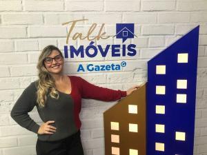 A editora de Imóveis & Cia de A Gazeta, Tatiana Paysan, vai ser a apresentadora do encontro virtual
