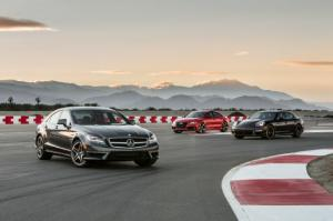 Luxury Super Sports Sedan Comparison - Audi RS7, Mercedes-Benz CLS63 AMG S, Porsche Panamera Turbo - Motor Trend