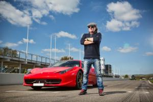 Interview: Talking Cars with AC/DC's Brian Johnson - Motor Trend