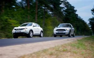 2011 Mini Countryman vs 2011 Nissan Juke Comparison - Motor Trend