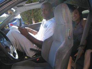Shaquille O'Neal Fits In Honda Prelude?