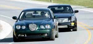 2004 Cadillac CTS-V vs. 2004 Jaguar S-Type R - Spec Sheet - Motor Trend