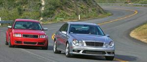 2003 Audi RS6 vs 2003 Mercedes Benz E55AMG - Comparison - Motor Trend