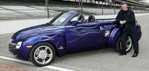 Motor Trend: Chevrolet SSR to Pace Indy 500
