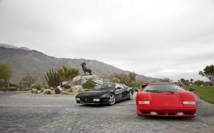 They Sold A Million Posters: 1988 Lamborghini Countach 5000QV and 1993 Ferrari 512 TR - Specs - Motor Trend