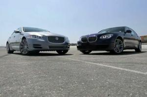 BMW 750Li, Jaguar XJL Supercharged Face off on Head 2 Head