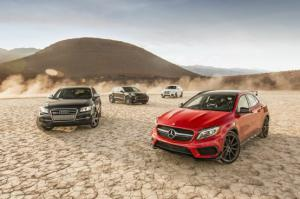 Comparison: SQ5 vs. X4 xDrive35i vs. GLA45 AMG vs. Macan Turbo