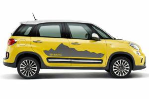 Moparized Fiat 500L Offers Bold Body Sticker Kits in Europe