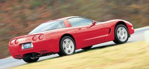 Chevy Corvette - Battle Of The Musclecars - Road Test - American Car - Motor Trend Magazine