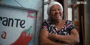 Dona Suzana, que participa de 'Street Food', está com o restaurante fechado e pensa em voltar a ser lavadeira
